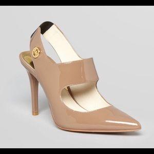 "Micheal Kors ""Sivian Pump"" sling shoes NWT"